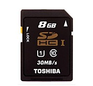Genuine TOSHIBA SD-C8GR7WA3 SD Memory Card (8GB)