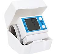 zk-001 pantalla lcd monitor de presión arterial de muñeca inteligente automático completo