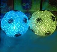cristal bola pedonal design de plástico noite (x1pcs cor aleatória)