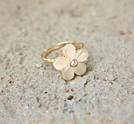 Fashion Personality Flower Adjustable Ring