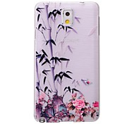 Chinese Bamboo Pattern PC Brushed Hard Case for Samsung Galaxy Note 3