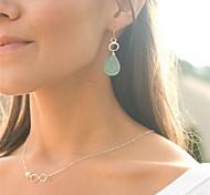 shixin® klassischen 8 Perlenform-Legierung Anhänger Halskette (1 PC)