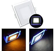 ZDM™ 10W 1 SMD 3528 650 LM Warm White / Cool White LED Panel Lights AC 85-265 V
