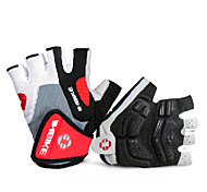 Glove Cycling / Bike Men's Fingerless Gloves Anti-skidding / Wearproof / Breathable Summer Red / Others S / XXL - INBIKE