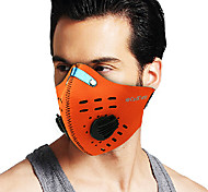 COOLCHANGE Orange Dust-anti Warm-keeping Cycling Face Masks