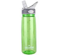 Tutngear 750ml Rose Red Plastic Outdoor Sports Water Bottle