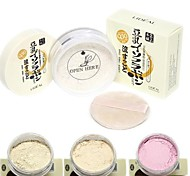 LIDEAL®Soybean Whitening Matte Makeup Loose Powder Finishing Powder(Powder Puff in,Assorted 3 Matte Color)