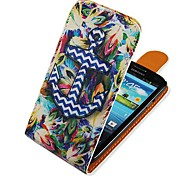 For Samsung Galaxy Case Flip / Pattern Case Full Body Case Anchor PU Leather Samsung S3