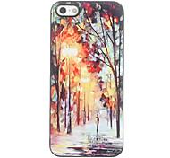 Olieverfschilderijontwerp Aluminium Hard Case voor iPhone 4/4S