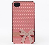Tie Style Protective Back Case for iPhone 4/4S