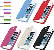 VORMOR® PU Leather Case & Touch Pen for iPhone 4/4S