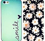 margarida&casos de padrão sorriso para iPhone 4 / 4S (2 pacotes)