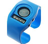 Unisex Multi-Functional Plastic Band Digital Wrist Watch (Assorted Colors)