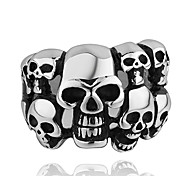 Fashion Many Skull Shape Men's Statement Ring(1 Pc)