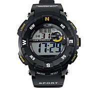 Men's Sporty  Digital Silicone Band Wrist Watch(Assorted Colors) Cool Watch Unique Watch
