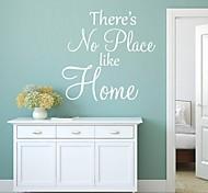adesivos de parede palavras cita casa decoração da parede jiubai ™ decalque