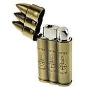 Creative Three Warhead Metal Lighters Toys