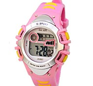 Women's Sporty  Digital Silicone Band Wrist Watch(Assorted Colors)