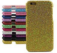 diseño de polvo del brillo duro de la cubierta para el iPhone 6 Plus (color surtidos)