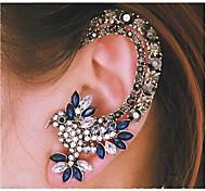 europei polsini dell'orecchio lega d'argento pappagallo diamante (blu) (1 pz)