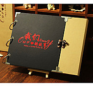 Retro DIY Photo Album26.5*2*19.5cm