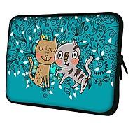 Elonno Cat Dog 10'' Tablet Neoprene Protective Sleeve Case for HP iPad 2/4/5 Samsung Galaxy Note 10.1/Tab 3