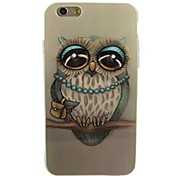 Decoration Owl Pattern Soft TPU Case Cover for iPhone 6