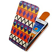 National Colorful Style Up-down Turn Over PU Leather Full Body Case for  Samsung Galaxy S2 I9100