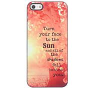 Baum in der Sun-Entwurf Aluminium Hard Case für iPhone 4/4S