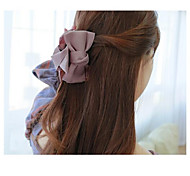 Fashion Bowknot Fabric Hair Pin Hair Clips Random Delivery