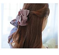 Fashion Bowknot Fabric Hair Pin Hair Clips Random Delivery