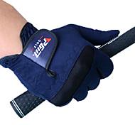 pgm Männer rechte Hand Mikrofasertuch dunkelblau atmungsaktivem Vollfingerhandschuhe Golf-1 Stück