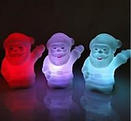acenam luz pai natal design de plástico noite (x1pcs cor aleatória)