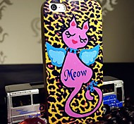 For iPhone 5 Case Pattern Case Back Cover Case Cat Soft TPU iPhone SE/5s/5