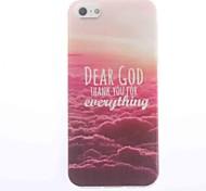chère conception de dieu étui souple pour iPhone 5 / 5s