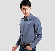 col montant basique à manches longues chemise homme 308