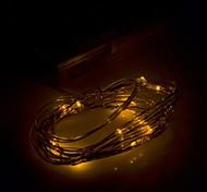 xinyuanyang® 0.8w 100lm 20 x SMD 0603 LED amarillo luz de la secuencia flexibles - (3 x 200cm aa /)