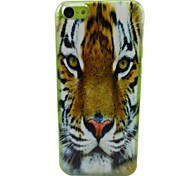 A Strong Tiger Pattern PC Back Case for iPhone 5C