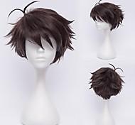 Haikyuu!Oikawa Tooru Dark Brown Cosplay  Wig