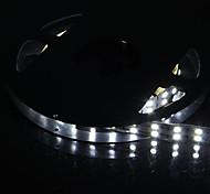dupla fileira 600x5050 SMD 144W 6000lm luz branca tira conduzida luz (5 metros de 12v / dc)
