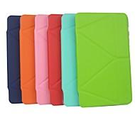 caso elegante ultra delgado de múltiples veces con soporte para Samsung Galaxy Tab 8.4 s t700 (colores surtidos)
