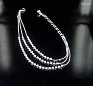 Women's Anklet Bracelet Alloy
