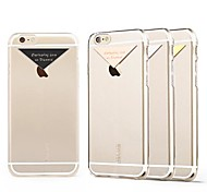 Dazzle Series Polycarbonate Leather Cover for iPhone 6(Assorted Colors)