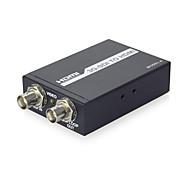 SDI to HDMI Converter SD-SDI HD-SDI 3G-SDI to HDMI Adapter Supports 720p 1080p,Engineering,SDI Signal 60HZ