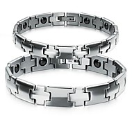 Z&X®  Fashion Simple Lovely Titanium Steel Couples Bracelet