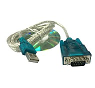 1m 3.3ft usb per cavo seriale rs232 db 9 pin convertitore di porta com per windows xp gps win 7 8 Spedizione gratuita