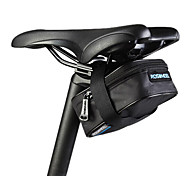 ciclismo en bicicleta de color gris ROSWHEEL alforjas