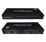 HDMI V1.4 2X2 HDMI Matrixes(2 in 2 out)With IR Control Support 3D 1080P