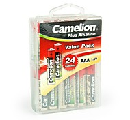 Camelion Plus Alkaline AAA Battery in Container Box of 24 PCS