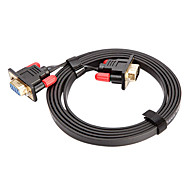 CYK CV05-003 5M 16.4FT VGA 15 Pin Male to VGA 15 Pin Female Computer Connection Cables